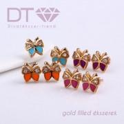 Butterfly Color fülbevaló