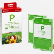 Canon Easy Photo Pack au format carte postale Canon E-P100 - 100 tirages