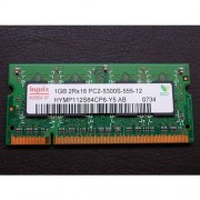 Hynix HYMP112S64CP6-Y5 AB-C - Mémoire 1 Go - So Dimm - DDR2 - PC2-5300S 555