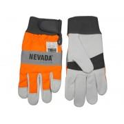 Schnittschutz Handschuhe Größe L / 10 - Forsthandschuh für Motorsäge / Kettensäge