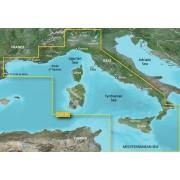 Garmin Mediterranean Sea, Central-West Garmin microSD™/SD™ card: HXEU012R