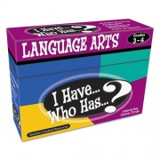 4 Pack TEACHER CREATED RESOURCES I HAVE WHO HAS LANGUAGE ARTS GAMES