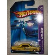 Taxi Rods Series #4 1964 Chevy Impala Dark Windows #2007-52 Collectible Collector Car Mattel Hot Whe