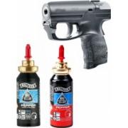 Kit pentru Autoaparare format din Pistol PDP Rezerva Spray Piper Jet si Rezerva Spray Pepper Gel