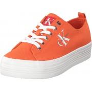 Calvin Klein Jeans Zolah Orange, Skor, Sneakers & Sportskor, Låga sneakers, Orange, Dam, 38
