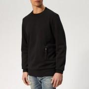 Diesel Men's Crome Sweatshirt - Black - XL - Black
