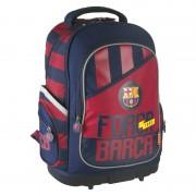 Rucsac FC Barcelona Lamonza, 46 cm, Albastru/Rosu