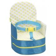 Badabulle přenosná židlička 2v1 One-the-Go Blue