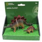 Set 2 figurine Stegosaurus National Geographic, 3 ani+