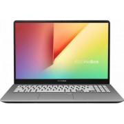 Ultrabook Asus VivoBook S15 Intel Core Whiskey Lake (8th Gen) i5-8265U 256GB 8GB FullHD Tast. il. FPR Gri