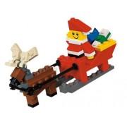 LEGO Santa and reindeer set / LEGO Santa with Sleigh Building Set 40010
