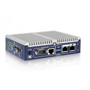 (DMC Taiwan) Fanless Embedded System, IntelApollo Lake x5-E3930 1.3GHz (up to 1.8GHz, Dual Core), VGA, M.2, COM, 12V DC, Flexible I/O Expansion and RoHS