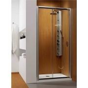 Radaway Premium Plus DWJ Drzwi wnękowe 100 szkło przejrzyste + Brodzik Delos C + syfon 33303-01-01N __DARMOWA DOSTAWA__