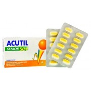 Acutil Multivitaminico Linea Senior 50+ Integratore Alimentare 24 Compresse