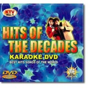 Hits of the Decades, 288 låtar. Karaoke- DVD, 14 skivor