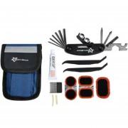 Conjunto De Kit De Caja De Herramientas De Reparación De Bicicleta ROCKBROS Mini Bicicleta, Herramienta De Servicio De Reparación De Neumáticos De Bicicleta Multitool