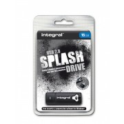 USB Flash Disk Integral 16GB Splash Black, 105524