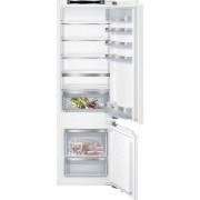 Siemens iQ500 KI87SAF30G Static Integrated Fridge Freezer - White
