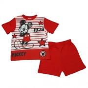 Pijama maneca scurta Mickey Mouse 3-8ani