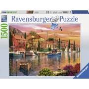 Puzzle PORT MEDITERANEAN 1500 piese Ravensburger