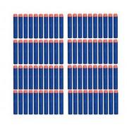 Z Jchao 100pcs Replacement Foam Darts For Nerf N Strike Elite Rampage Retaliator Series Blasters Refill Clip Darts Electric Toy Gun Soft Bullet Toy Bullet
