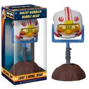 Luke X-Wing Bird ~6.5 Bobble Head Figure: Angry Birds Star Wars Wacky Wobbler Series