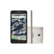 Smartphone Alcatel Pixi4 Dual Chip Android 5.1 Lollipop Tela 6 Quad Core 8 GB 3G Wi-Fi Câmera 13MP - Dourado