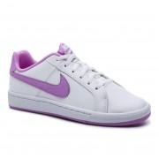 Nike Buty NIKE - Court Royale (GS) 833654 103 White/Fuchsia Glow