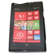 Силиконов гръб ТПУ за Nokia Lumia 925 Черен