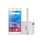 Smartphone Lenovo Vibe K5 Dual Chip Android Tela 5 16GB 4G Câmera 13MP - Prata