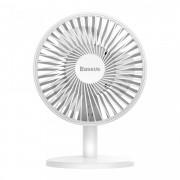 Ventilator cu acumulator 2000 mAh , Baseus Ocean Fan , alb