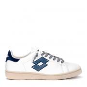 Lotto Sneaker Lotto Leggenda Autograph in pelle bianca e blu