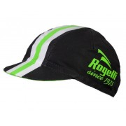 Sport siltes sapka Rogelli RETRO, fekete-zöld 009.954.