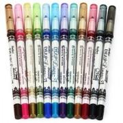 MeNow MN Sketch set of 12 Creamy Lip Liner Pencils/Eye Pencil Comb