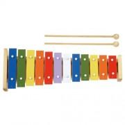 Xilofon Metallophone, 12 note colorate