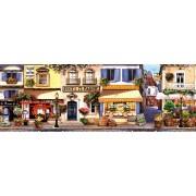 Puzzle panoramic Schmidt - A Stroll Through Paris Panorama, 1.000 piese (58383)