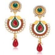 Sukkhi Modish Gold Plated Earrings