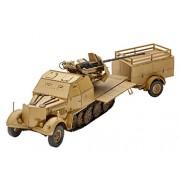 Revel Model Kit - Sd Kfz 7/2 Halftrack - 1:72 Scale - 03207 - New