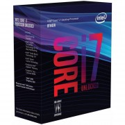 Procesador Intel Core I7 8700K 3.7 GHz Six Core 12 MB Socket 1151 V2-Gris