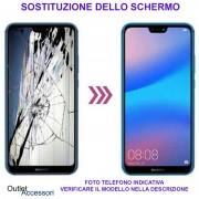 Riparazione Sostituzione Schermo Huawei P20 PRO Cambio Display Rotto Vetro LCD Touch Ricambio Originale