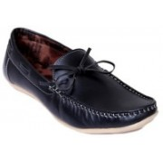 Stylos Mens Black Loafer Shoes Loafers For Men(Black)