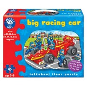 Orchard Toys Big Racing Car, Multi Color