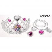 Set diadema si bijuterii Disney Princess, 3 piese, 3 ani+