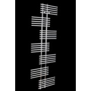 Radiator port prosop decorativ AZURE CHROME 500 X 1200