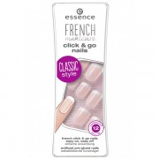 Unghii False Essence French Click And Go Nails