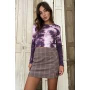 Urban Outfitters UO - Mini-jupe à carreaux avec fente- taille: M