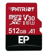 Micro SD Card, 512GB, Patriot EP Series, SDXC V30 (PEF512GEP31MCX)