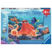 PUZZLE 4Ani+ IN CAUTAREA LUI DORY, 2x24 PIESE
