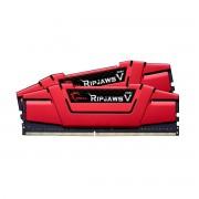 Mémoire RAM G.Skill RipJaws 5 Series Rouge 16 Go (2x 8 Go) DDR4 3000 MHz CL15 - F4-3000C15D-16GVRB