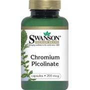 Swanson Króm Chromium Picolinate Kapsz.